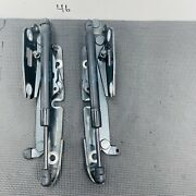 2005-2011 Audi A6 S-line Left And Right Trunk Lid Hinges Support Pair 4f5827301d