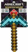 World Of Minecraft Pickaxe Diamond Sword Transforming 2 In 1 New Sold Out Rare
