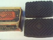 Vintage Kastar Replacement Slip-on Pedal Pads Many Cars From 1929-36
