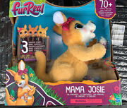 Furreal Mama Josie The Kangaroo Interactive Pet Kids Toy 70+ Sound-and-motion Comb