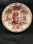 Vintage Will Rogers Collector Plate By Vernon Kilns Usa