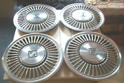 Oe Set Of 4 14 Inch Wheelcovers 1116 85-87 Buick Regal Xcellent Barn Find