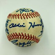 1985 Atlanta Braves Team Signed Autographed Official National League Baseball