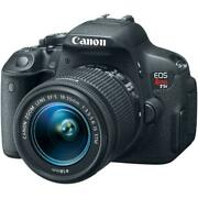 Canon Eos Rebel T5i Ef-s 18-55 Is Stm Camera Kit 1080p Hd Video Recording Camera