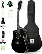 Acoustic-electric Spruce Top Left-handed 12 String Guitar