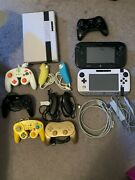 Nintendo Wii U Lot With Games Accessories And More