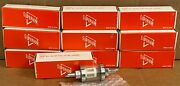 10 Ff316 Universal Chrome Harley 3/16 Glass View All In Line Fuel Filters 111