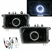 Admiral 04-07 Suv 5d Guide Led Angel-eye Projector Headlight Bk For Zx Auto Lhd