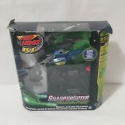 Air Hogs R/c Sharpshooter Tracer Fire - Blue Missile Launching Helicopter