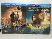 Cloud Atlas + Jupiter Ascending Blu-ray+dvd+slip Cover Wachowskis Double Feature