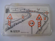 Kibri Railroad Signs Vintage Made In West Germany Rare