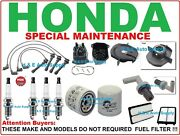 Tune Up Kits 98-02 Honda Accord Spark Plugs Wire Set Filter Dist. Cap And Rotor