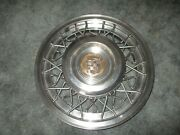 1950and039s Cadillac Wire Wheel Cover Hubcap