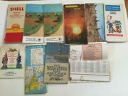 39 Map Lot New York Midwest East Coast 1940s To 1980s Exxon Esso Mobil