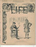 1897 Life January 14 - Banks And Borrowers Are In Trouble Bryan Lectures Boring
