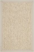 Safavieh Natural Fiber Collection Nf525c Marble Sisal Area Rug 2and039 X 3and039