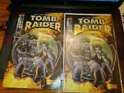 316 Tomb Raider 10 One Certificate 14 Gold Emboss Andreg10 2 Book Bag And Card