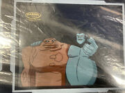 Gorilla Grodd And Clayface Production Drawing And 1 Of 1 Justice League Unlimited
