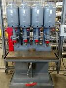 Leland Gifford 4 Spindle Drill Press Multi Spindle