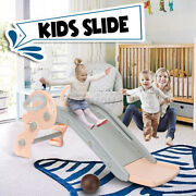 Kids Play Slide Set Climber Indoor Outdoor Playground Swing Toddler Basketball