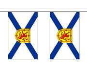Canadian Province Flag Polyester Bunting - Premium Quality