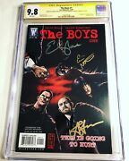 Cgc Ss 9.8 The Boys 1 Signed Antony Starr Erin Moriarty And Elisabeth Shue
