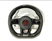 Mercedes-benz W222 W463a Brabus Style G63 S-class Steering Wheel Leather Carbon