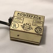 Vintage Marx Road Racing Slot Car Power Pack Transformer 1908 Tested And Working