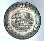 Royal Stafford Cereal Soup Bowl Black Ivory Shepherd Man Flawless 2 Available