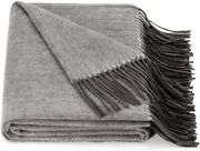 Spencer And Whitney Bed Throws Wool Throw Blanket Grey Wool Blanket 70 Wool 30 V