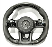 Mb W222 W213 W463a Gt G S Steering Wheel Carbon Perforated Leather