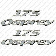 Aquasport Osprey 175 Boat Decals Set Of 2