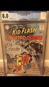 Brave And The Bold 54 Cgc 8.0 Ow/w- First App Of The Teen Titans Mega Key