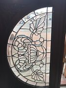 Sg 2703 Antique All Beveled Glass Arch Window 31 X 50
