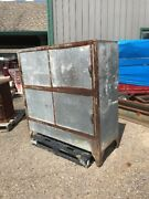 Antique Iron And Galvanized Sheet Metal Industrial Cabinet