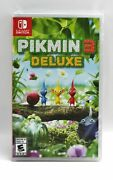 Nintendo Switch Video Game Pikmin 3 Deluxe New
