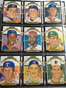 1987 Donruss Hand Collated Baseball Cards 1-660 + 21card Roberto Clemente Puzzle