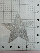 Universal Die Cut Tool Thin Metal Emboss Christmas Star Ornament Stained Glass