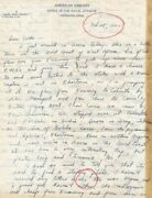 Original Wwii Flying Tigers Avg Fantastic Letter Home From Double Ace Feb 1942
