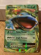 Full Miscut Venasaur Ex Very Rare One Of A Kind Miscut