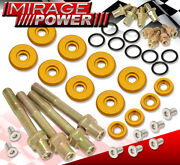 For Civic Integra Del Sol B16a B18c Low Profile Valve Cover Washer Bolt Kit Gd