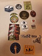 Sticker Lot Of 18 Midwest Craft Breweries Founders Bells 3 Floyds Hopslam