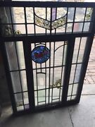 Sg 42 Vintage Stainglass Window In Thermal Frame