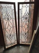 Sg 2280 2available Price Each Beveled Glass Transom 19.25 X 53.25