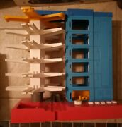 Vintage Bandai Car Garage Elevator Playset Fits Your Cars 3 By 1 Made In Japan