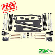 4 Front And Rear Radius Arm Suspension Lift Kit Fits Ford F250 4wd 2011-16 Zone