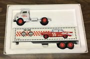 Ertl Tiny Lundand039s And03950 Chevy Tractor Trailer Diecast Model