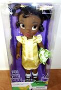 Disney Animators' Collection Tiana Doll 16 Inches Toddler Doll