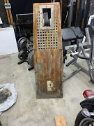 Boat Marine Teak Pulpit With Anchor Roller