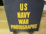 Ww2 U. S. Navy War Photographs Pearl Habor To Tokyo Harbor V/g Used Condition